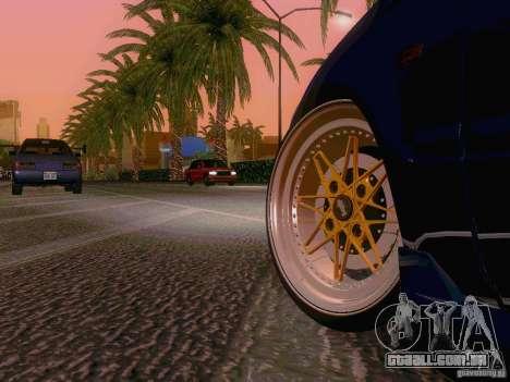 Honda Civic JDM Hatch para GTA San Andreas vista traseira