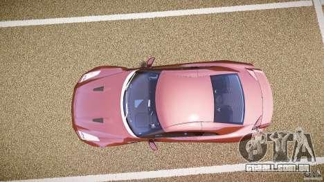 Nissan GT-R R35 2010 para GTA 4 vista direita