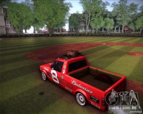 Volkswagen Caddy Custom 1980 para GTA San Andreas esquerda vista