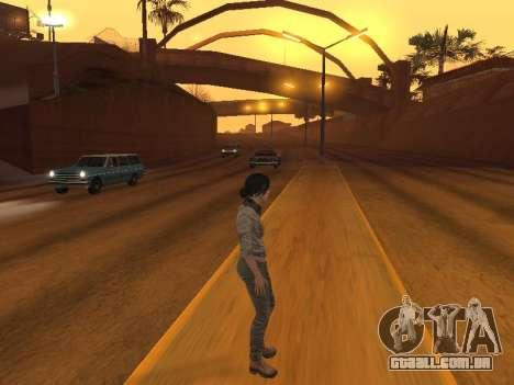 FaryCry 3 Liza Snow para GTA San Andreas quinto tela
