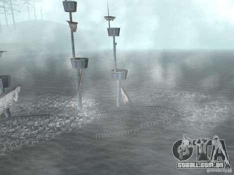 Navio pirata para GTA San Andreas quinto tela