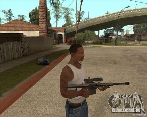 New sniper para GTA San Andreas