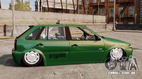 Volkswagen Gol G4 Edit para GTA 4 esquerda vista