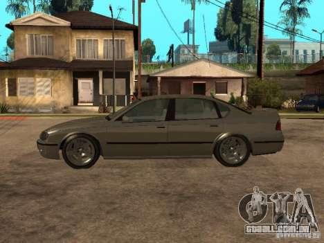 O mérito de Gta 4 para GTA San Andreas esquerda vista