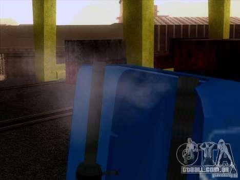 Freightliner Argosy Skin 1 para GTA San Andreas vista traseira