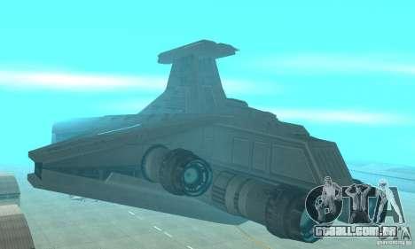 Republic Attack Cruiser Venator class v2 para GTA San Andreas
