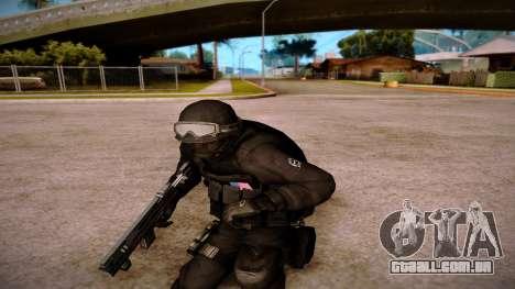 Turcotte Rapid SMG para GTA San Andreas