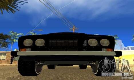 VAZ 2106 para GTA San Andreas vista interior
