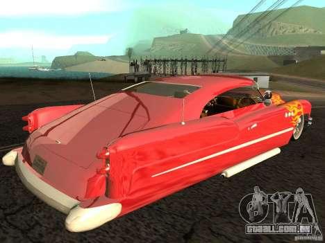 Buick Custom 1950 LowRider 1.0 para GTA San Andreas esquerda vista