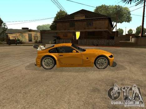 BMW Z4 Style Tuning para GTA San Andreas