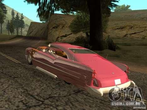 Buick Custom 1950 LowRider 1.0 para GTA San Andreas vista direita