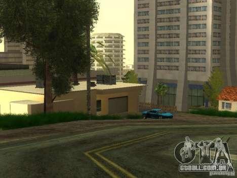 Carros caros na área exclusiva de Los Santos para GTA San Andreas por diante tela