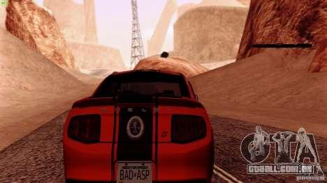 Direct R v1.0 para GTA San Andreas quinto tela