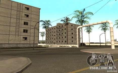 Uma pequena cidade russa na Grove Street para GTA San Andreas quinto tela