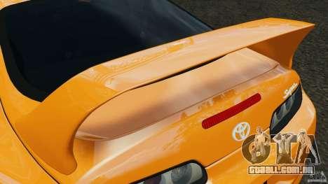 Toyota Supra Tuning para GTA 4 motor