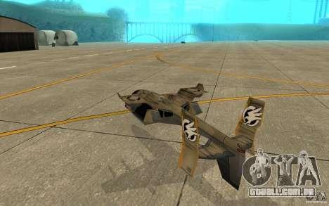 Orca ar comando e Conquer 3 para GTA San Andreas vista direita