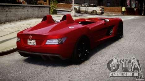 Mercedes-Benz SLR McLaren Stirling Moss [EPM] para GTA 4 vista lateral