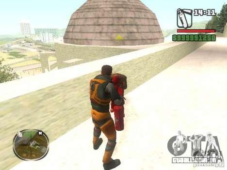 Gordon Freemen para GTA San Andreas terceira tela