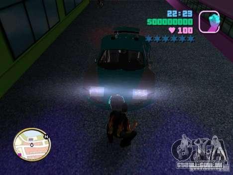Bugatti Veyron para GTA Vice City vista direita