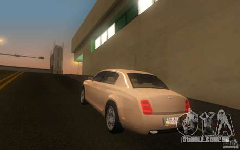 Bentley Continental Flying Spur para GTA San Andreas esquerda vista