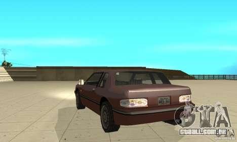 New lights and crash para GTA San Andreas quinto tela