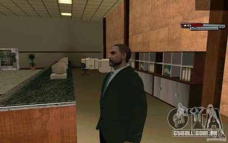 Mayor HD para GTA San Andreas segunda tela