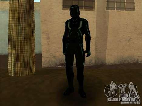 Um personagem do jogo Tron: Evolution para GTA San Andreas sexta tela