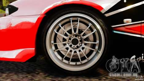Nissan Silvia S15 Evil Empire para GTA 4 vista interior