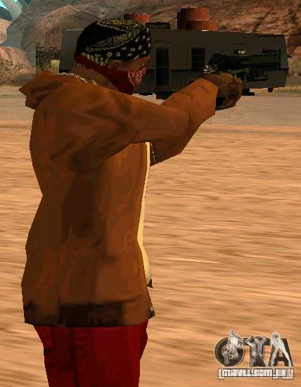 MW2 Deagle para GTA San Andreas segunda tela
