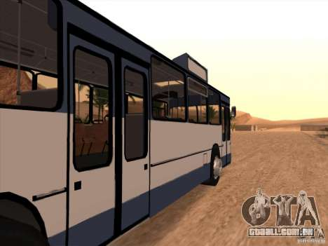 MAN SL200 Exclusive v.1.00 para GTA San Andreas vista direita