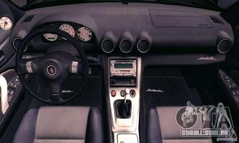 Nissan Silvia s15 tunable para GTA San Andreas vista superior