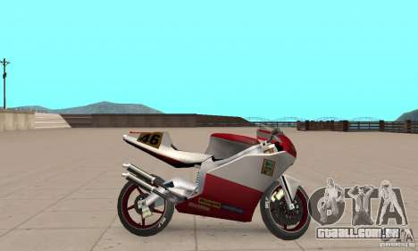 Ducati 999R para GTA San Andreas traseira esquerda vista