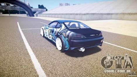 Nissan Silvia S15 Drift v1.1 para GTA 4 vista direita