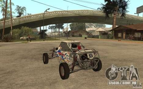 CORR Super Buggy 2 (Hawley) para GTA San Andreas traseira esquerda vista