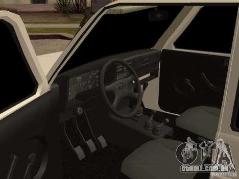 VAZ 2131 para GTA San Andreas vista traseira