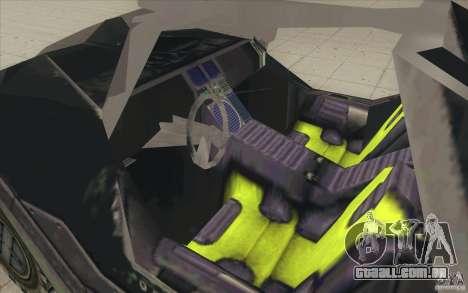 Halo Warthog para vista lateral GTA San Andreas