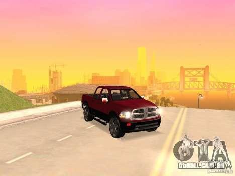 Dodge Ram 2010 para GTA San Andreas