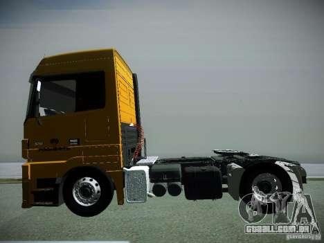 Mercedes-Benz Actros Rosneft para GTA San Andreas vista direita