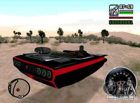 Danos Carhealth-luz para GTA San Andreas