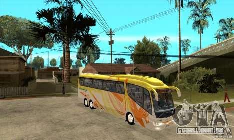 Irizar PB Scania K420 6x2 para GTA San Andreas vista traseira