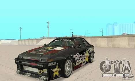 Toyota AE86wrt Rockstar para GTA San Andreas