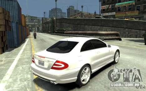 Mercedes-Benz CLK55 AMG 2003 v1 para GTA 4 vista direita
