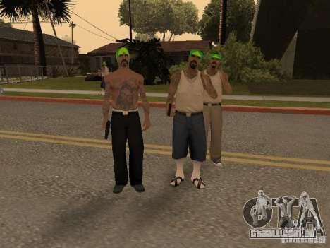 Vagosy-Grove para GTA San Andreas segunda tela