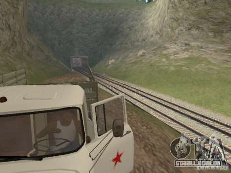ZIL 131 Main para GTA San Andreas vista traseira