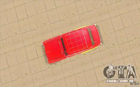Moskvich 407 para GTA San Andreas vista interior
