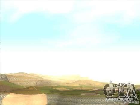 ENBSeries para PC médio e fraco para GTA San Andreas terceira tela