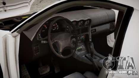 Mitsubishi 3000GT ST para GTA 4 vista interior