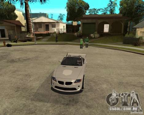 BMW Z4 Supreme Pimp TUNING volume II para GTA San Andreas vista interior