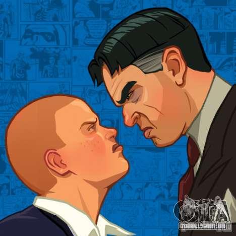 Zakruzočnye telas Bully Scholarship Edition para GTA San Andreas terceira tela