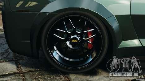 Chevrolet Camaro SS EmreAKIN Edition para GTA 4 vista interior